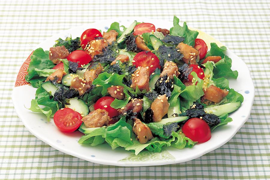 韓国風やきとりサラダ