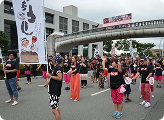 富士まつり 市民総踊り