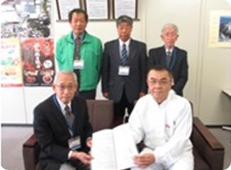 富士市松野地区:「災害時における物資供給に関する協定」の締結