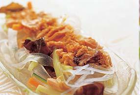 つるつる中華風サラダ