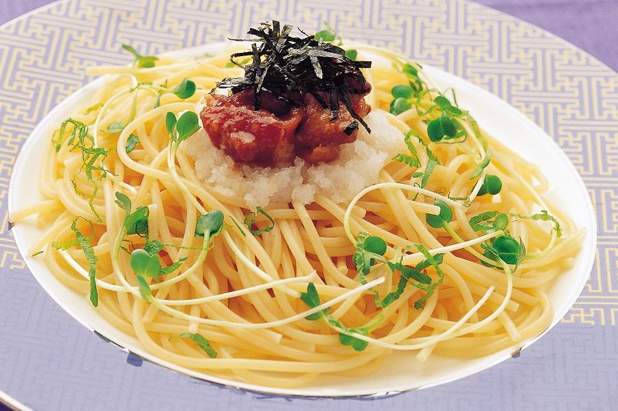 やきとりおろしスパゲティー