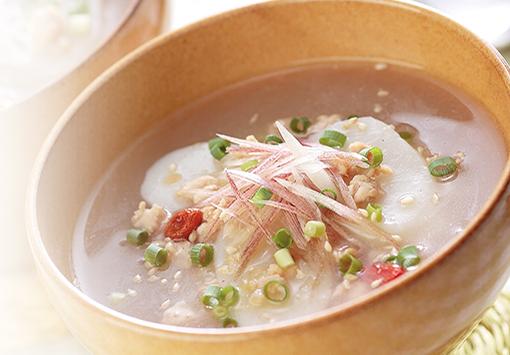 トック風スープ